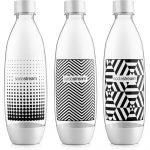 Sodastream BO TRIO FUSE Black&White Palack 3db