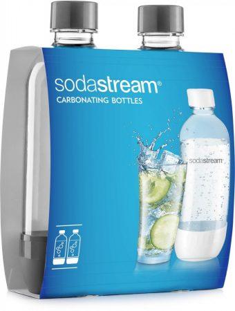 Sodastream DUO GREY palack ( 2db )
