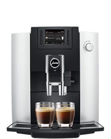 JURA E6 Platin automata kávéfőző