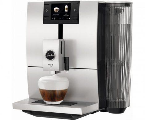 JURA ENA 8 BK Autómata kávéfőző fekete/ezüst