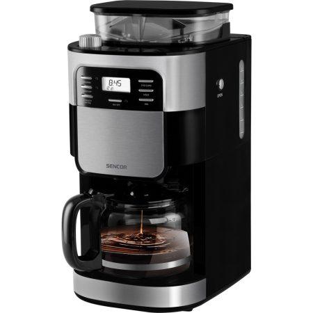 Sencor SCE 7000BK Filteres darálós kávéfőző