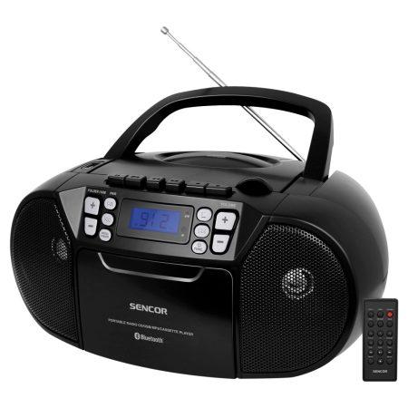 Sencor SPT 3907B Rádiós magnó CD, BT