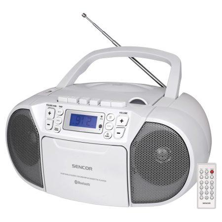 Sencor SPT 3907W Rádiós magnó CD, BT