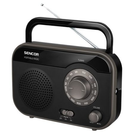 Sencor SRD 210 B Hordozható rádió