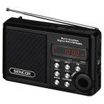 Sencor SRD 215 B Hordozható rádió